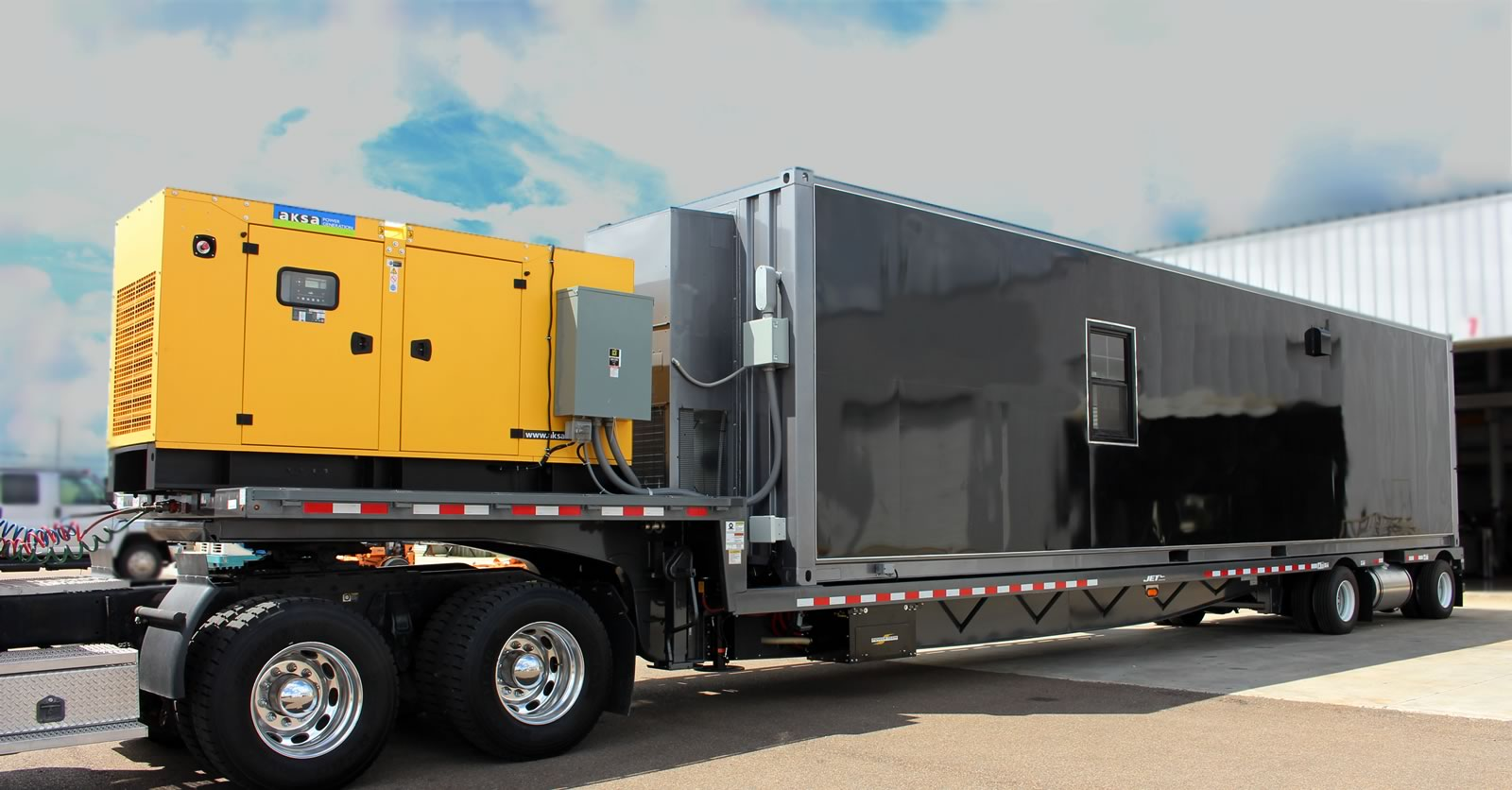 mobile machine shop trailer