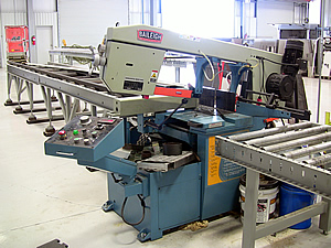 Steel and Aluminum Cut Line