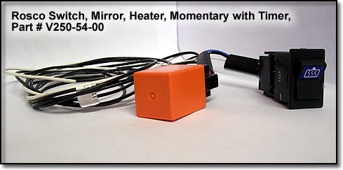 U S Post Office On Wheels Body Parts Heated Rear View Mirror